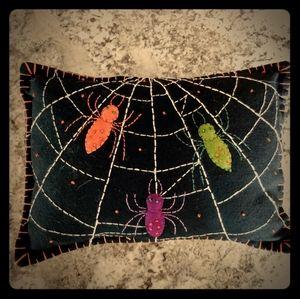 Halloween 🎃 spider 🕷️ pillow